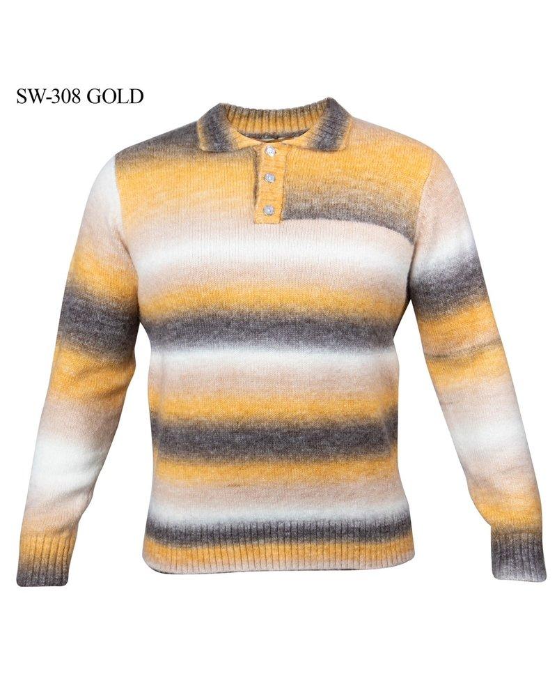 Prestige Ombre Polo Sweater