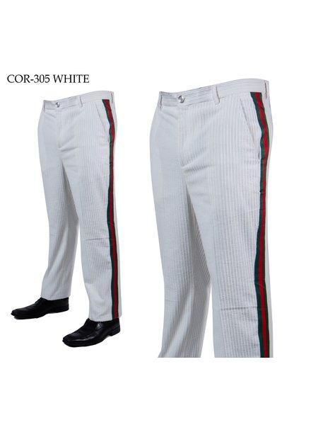 Prestige Flat Front Corduroy Web Pant