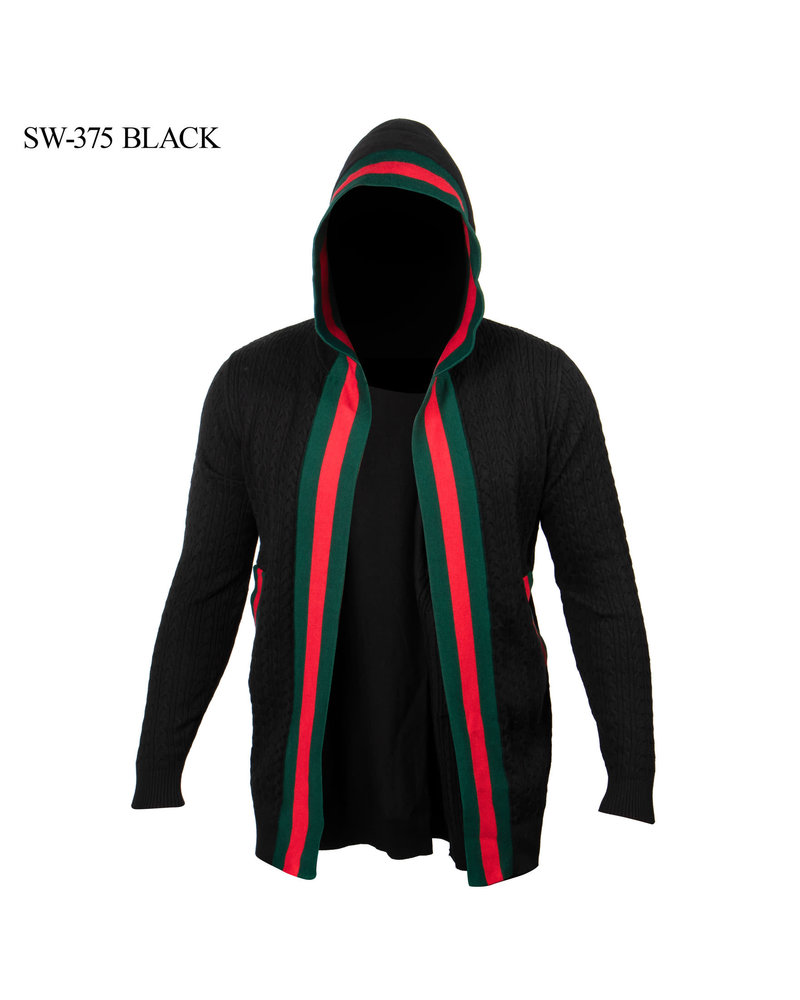 Prestige L/S Web Cable Hooded Sweater