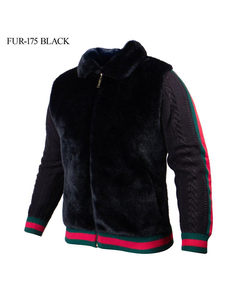 Prestige L/S Web Fur Mink Shirt