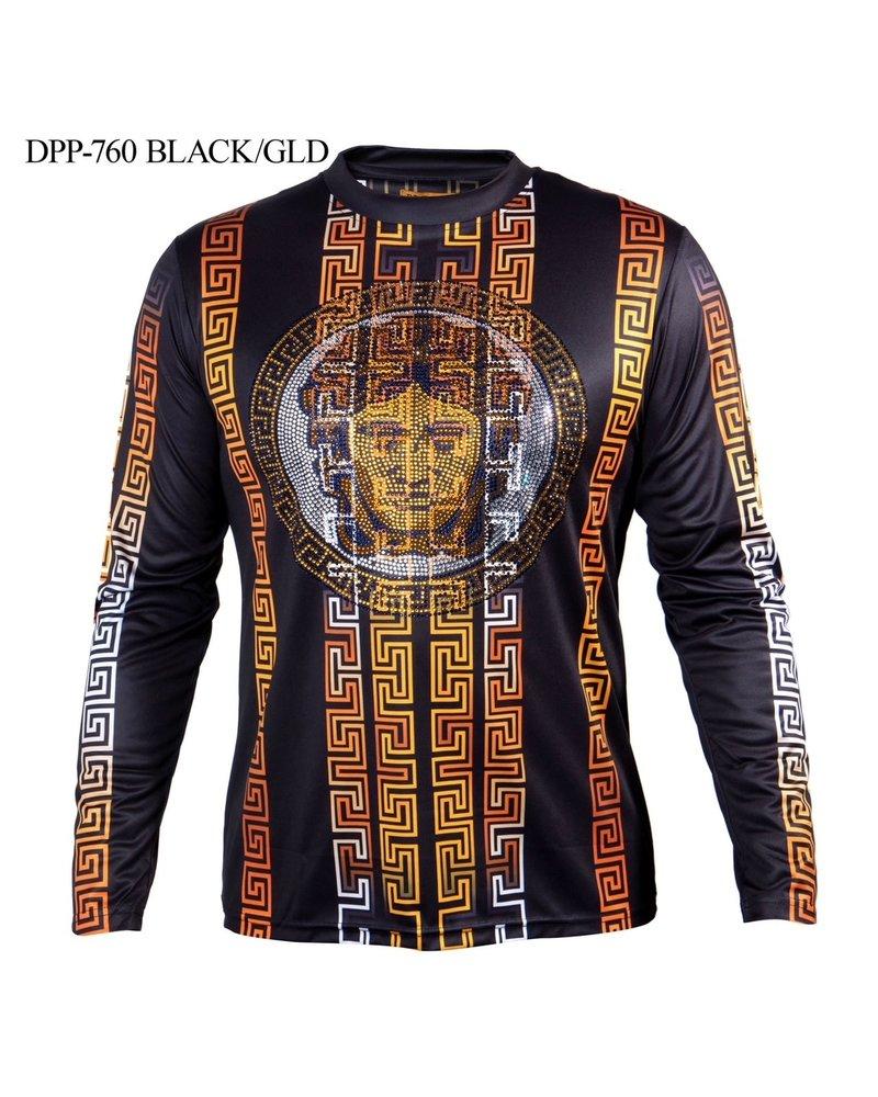 Prestige L/S Printed Hotfix Shirt