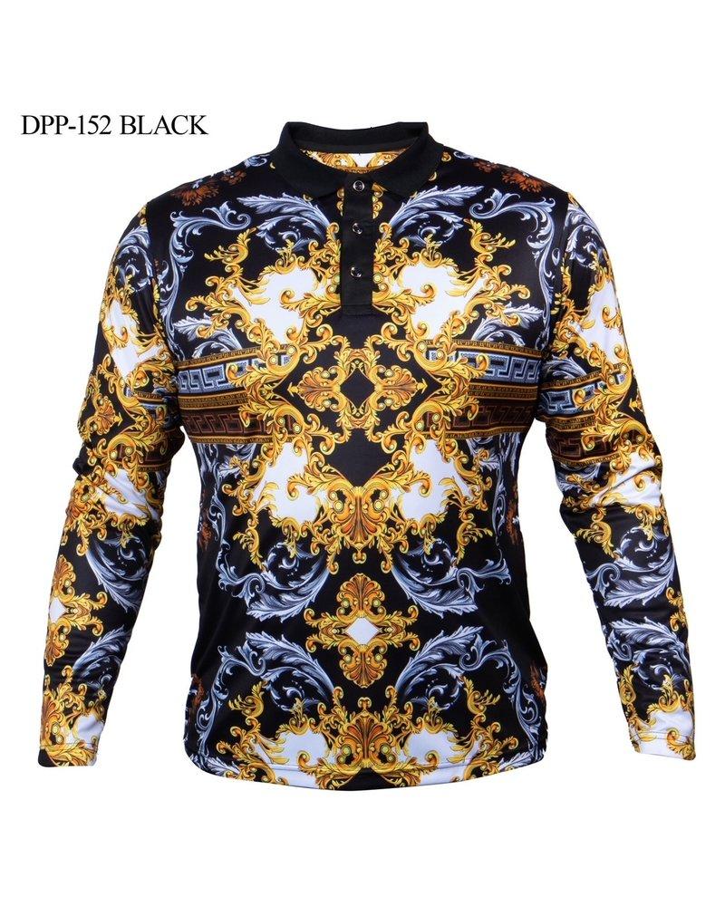Prestige L/S Digital Medu Greek Stone Shirt