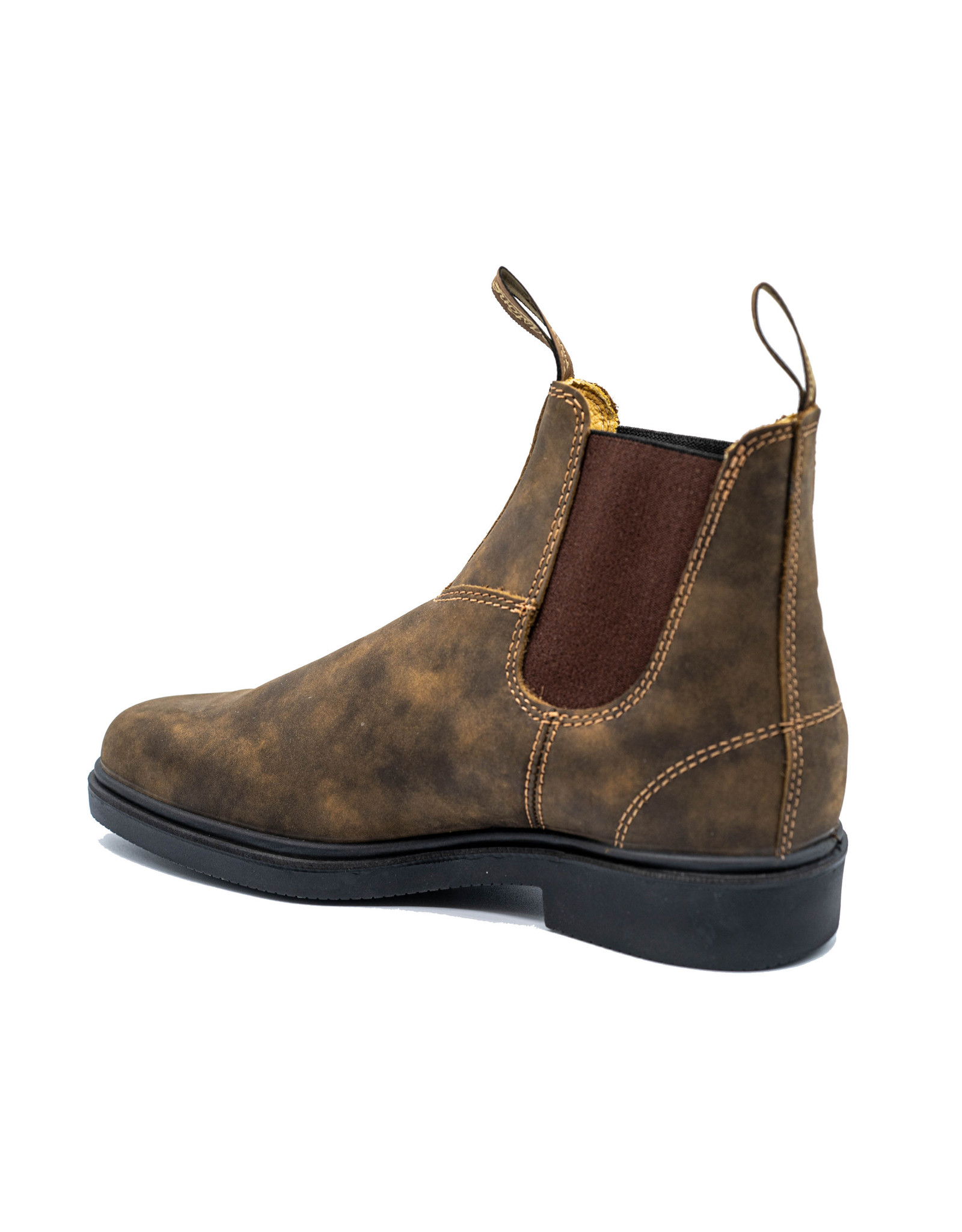 BLUNDSTONE 1306 - Botte ciselée habillée en brun rustique