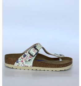 BIRKENSTOCK Gizeh Meadow Flower off white 1012770