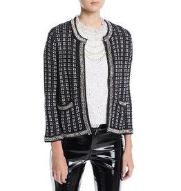 Alice & Olivia Georgia Tweed Jacket XSmall