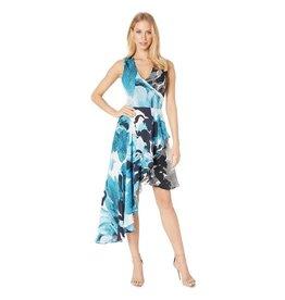 Nicole Miller Silk Watercolor Dress
