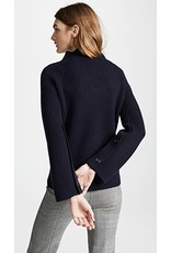 Vince Button Sleeve Sweater