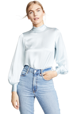 Vince Cloud Mock Blouse