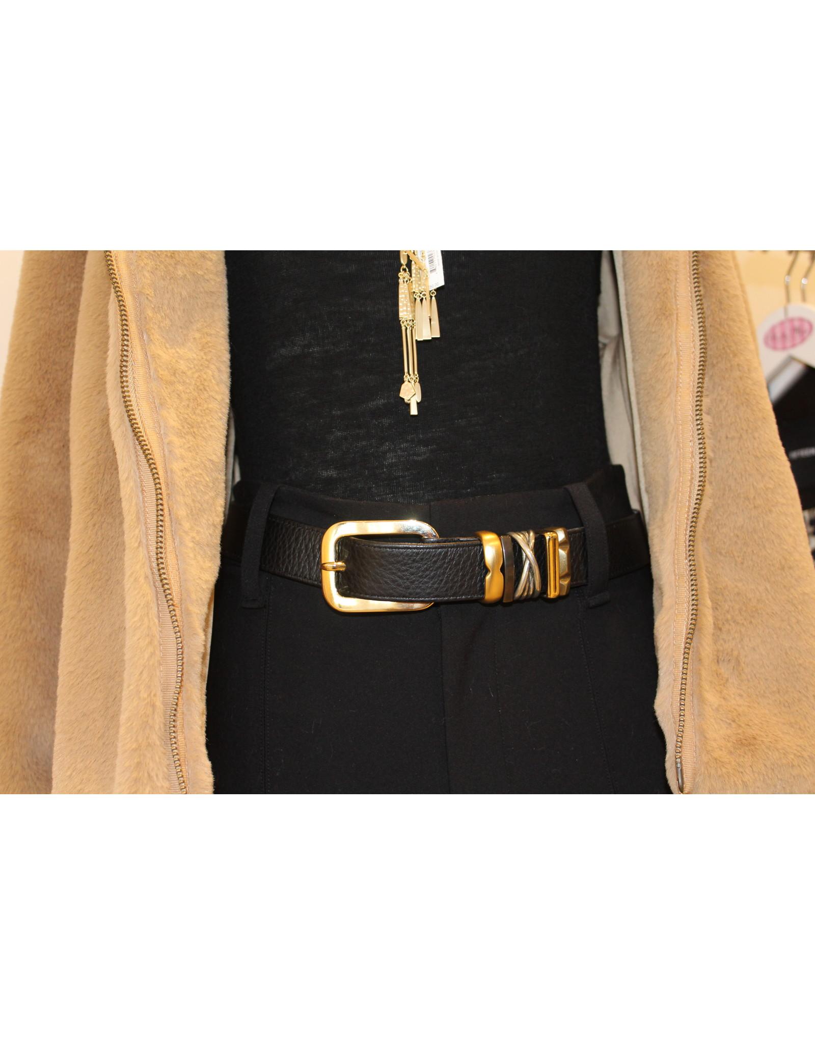 Suzi Roher Gold Assorted Belt