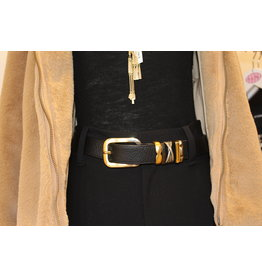 Suzi Roher Gold Assorted Belt