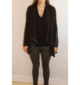 Fifteen Twenty Drape Leather Jacket