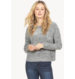 Lilla P Scalloped Crewneck Sweater