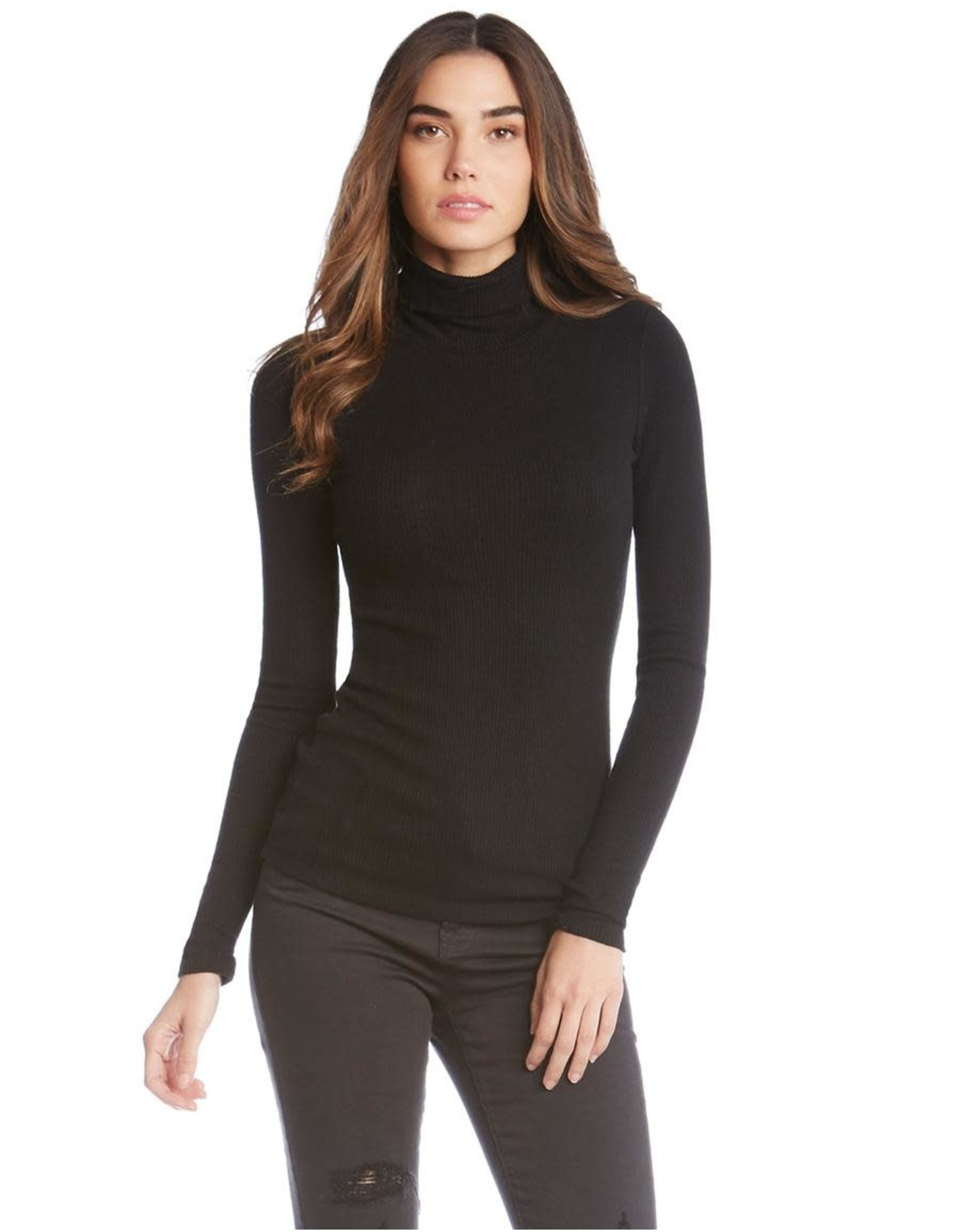 Fifteen Twenty Ribbed Turtleneck