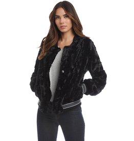 Fifteen Twenty Faux Fur Bomber Jacket