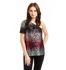 Drew Annie Sequin Top