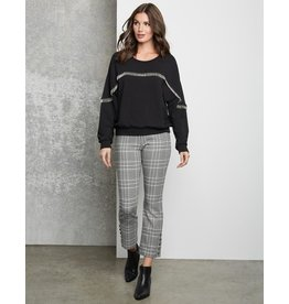 Fifteen Twenty Plaid Button Pants