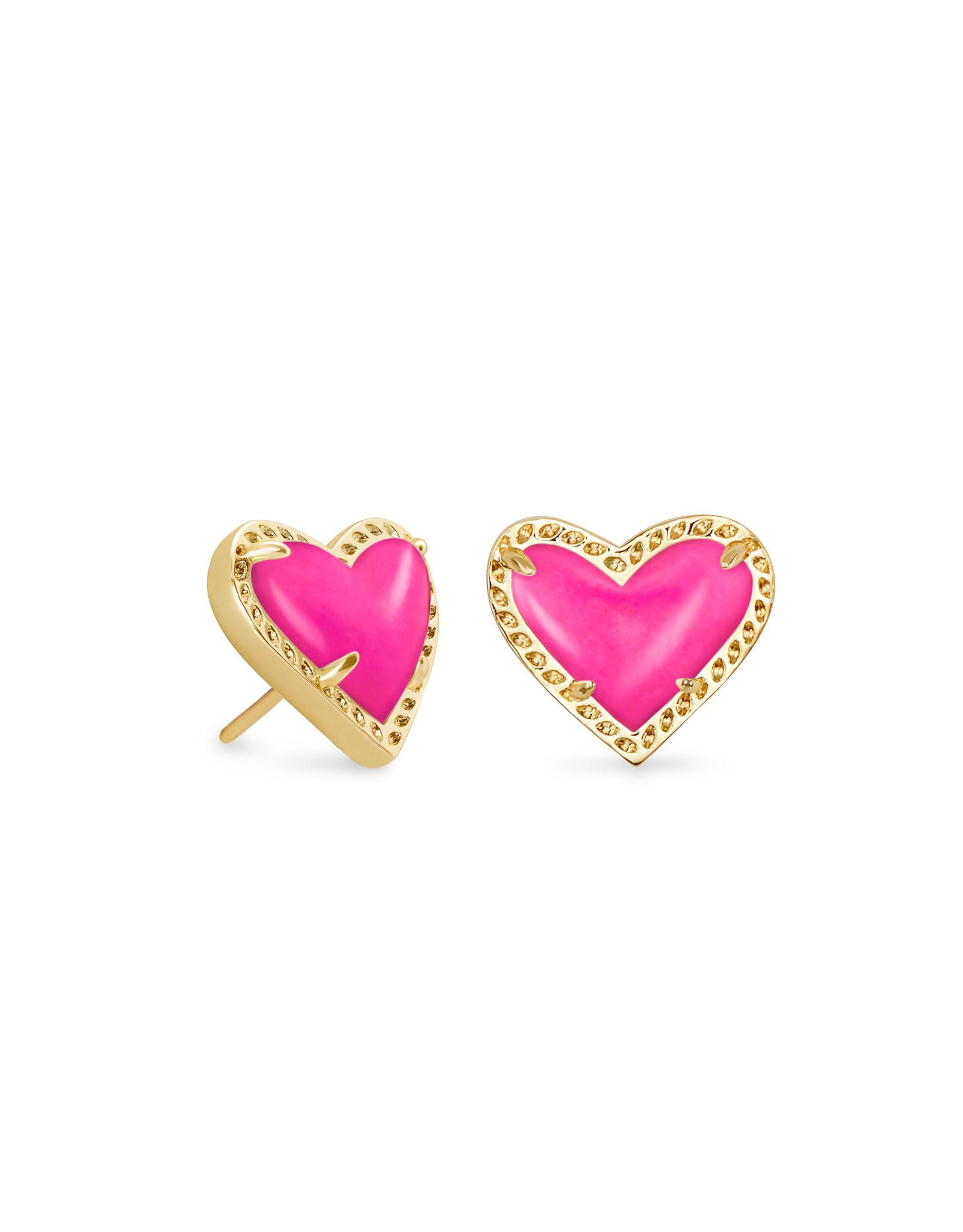 Kendra Scott Ari Heart Studs