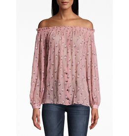 Nicole Miller Rocky Off Shoulder Top