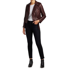 AG Rory Leather Moto Jacket