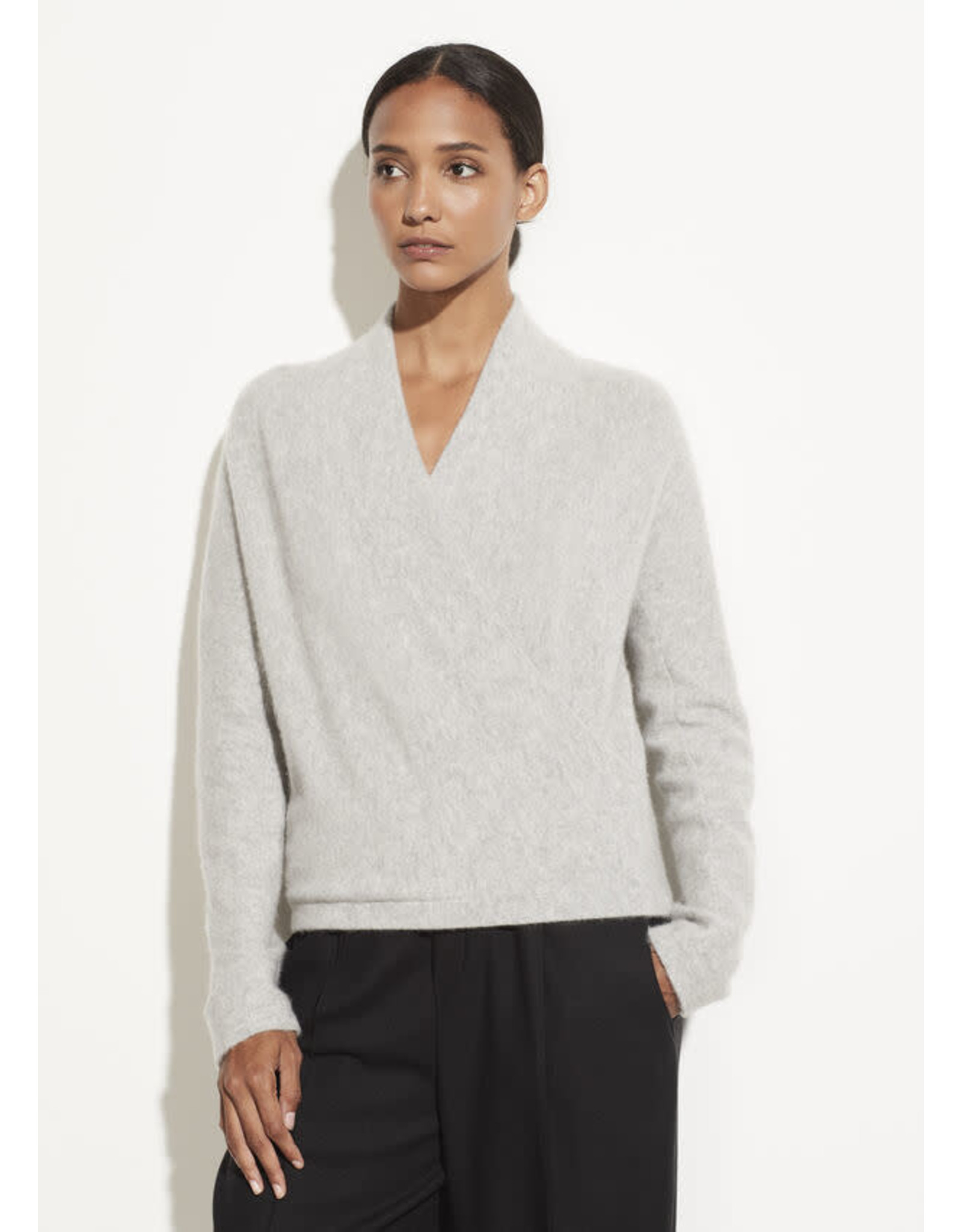 Vince Wrap Front Sweater