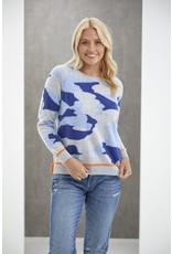 Tipped Camo Sweater