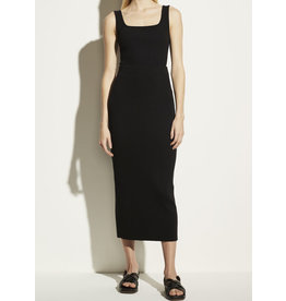 Vince Ribbed Pencil Skirt