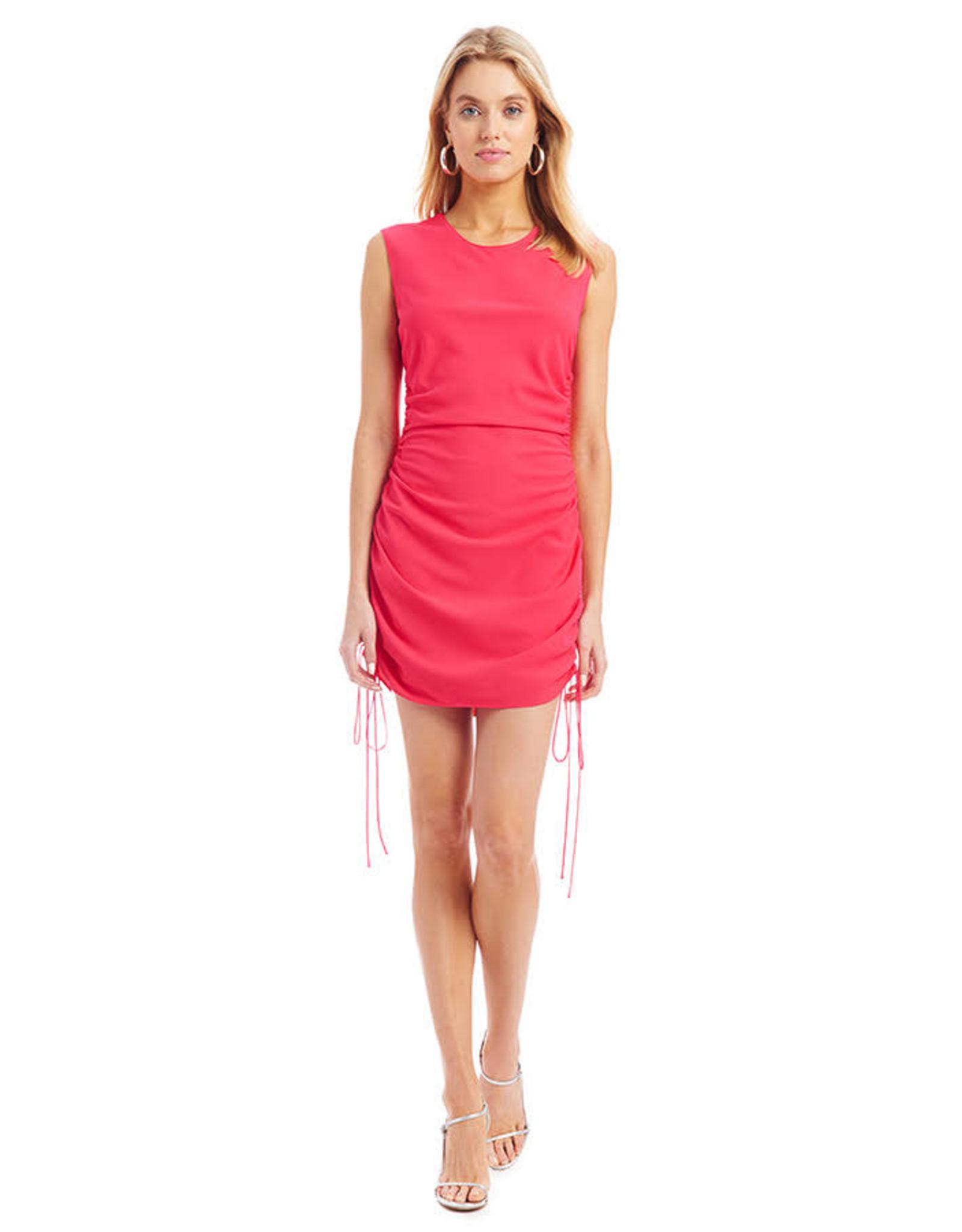 Amanda Uprichard Nessa Dress Begonia