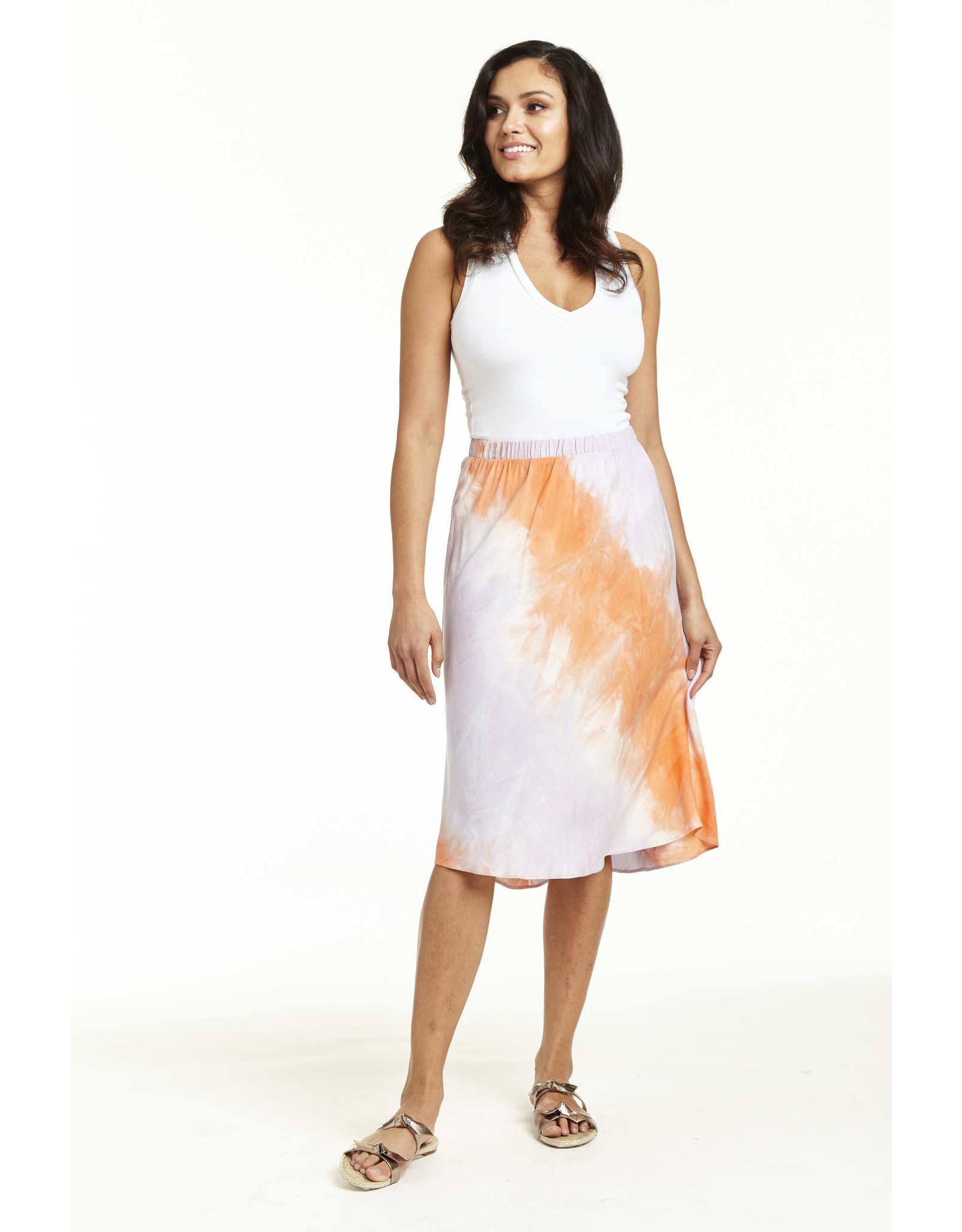 Drew Carter Tangerine Skirt