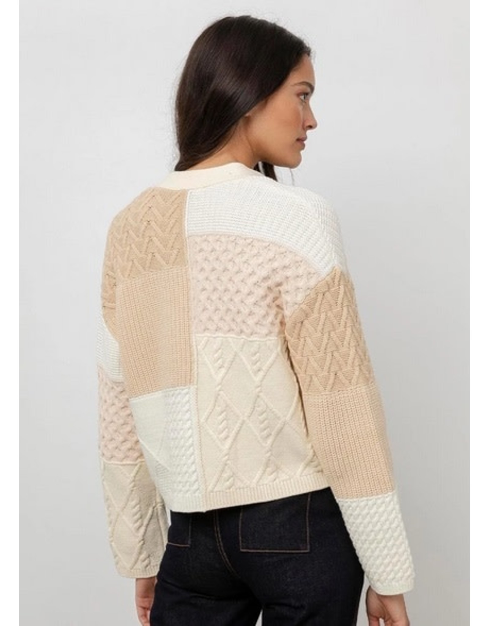Rails Reese Patchwork Sweater