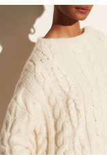 Vince Braided Cable Funnel Neck