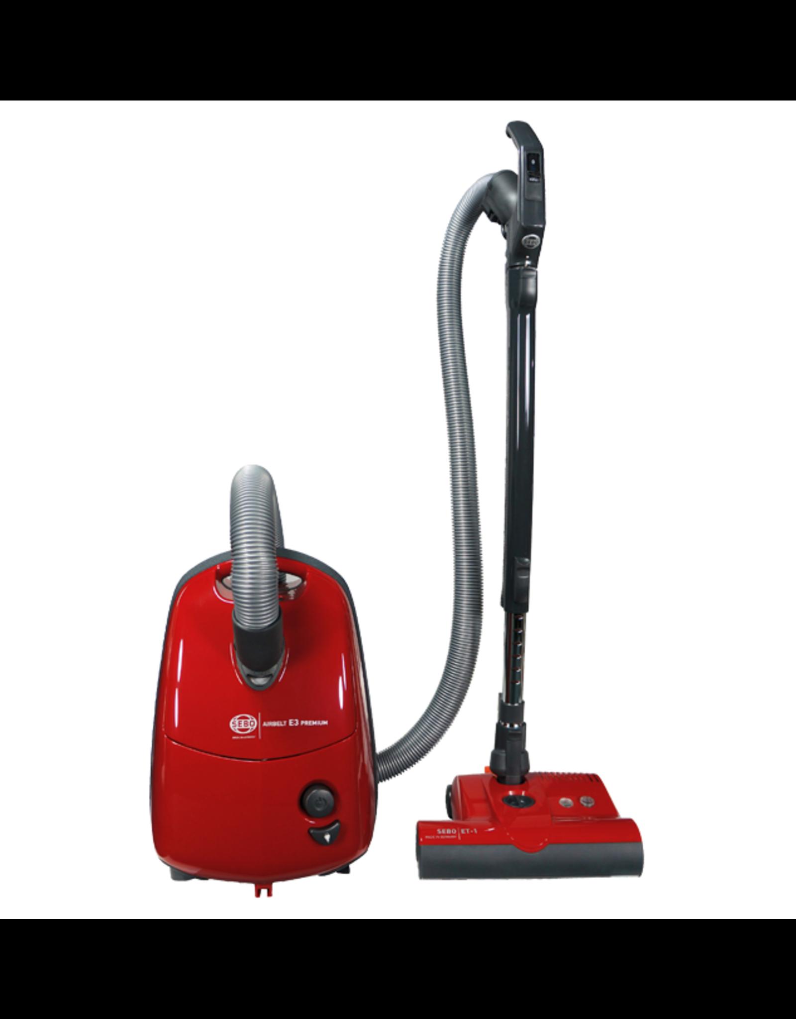 SEBO SEBO AIRBELT E3 Premium Canister Vacuum