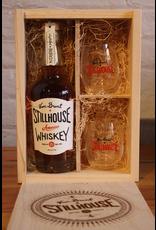 Van Brunt Stillhouse American Whiskey Gift Set with 2 Glasses - Red Hook, Brooklyn (375ml)