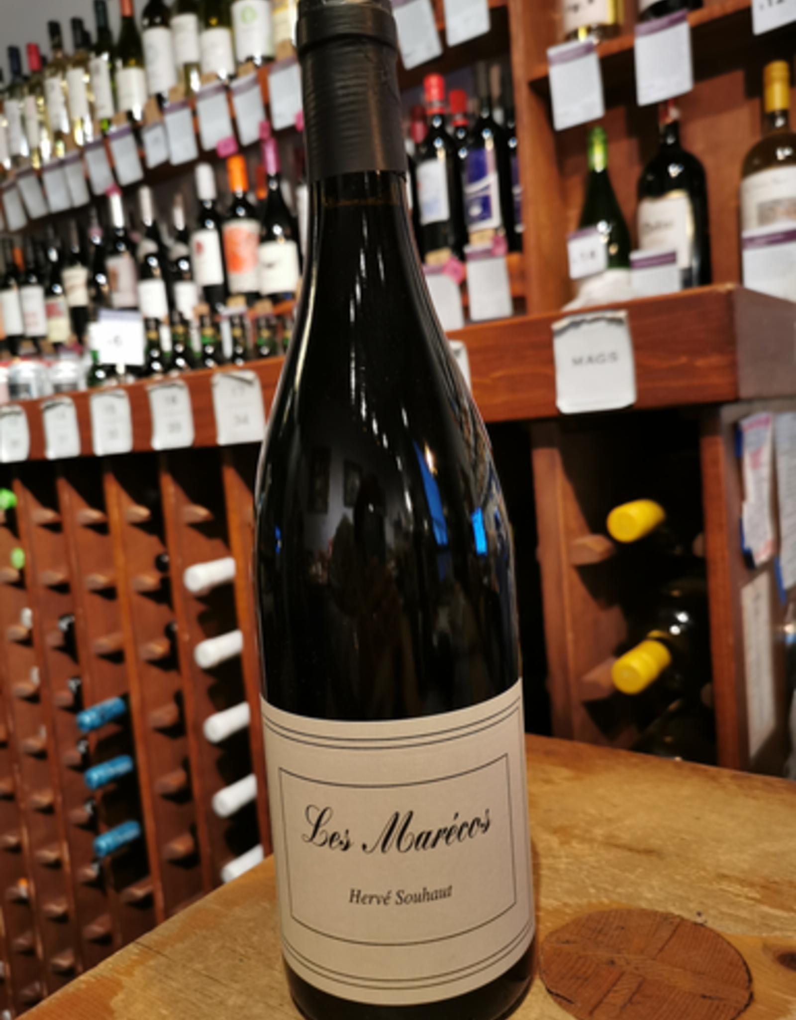 Wine 2017 Herve Souhaut Les Marecos Rouge, Romaneaux-Destezet Collines Rhodaniennes - Ardeche, France (750ml)