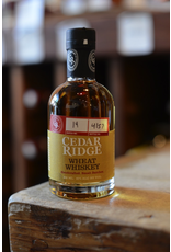 Cedar Ridge Wheat Whiskey 80 proof - Swisher, Iowa (200ml)