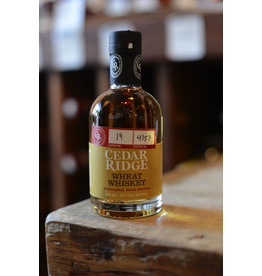 Cedar Ridge Wheat Whiskey 80 proof - Swisher, Iowa (200ml)