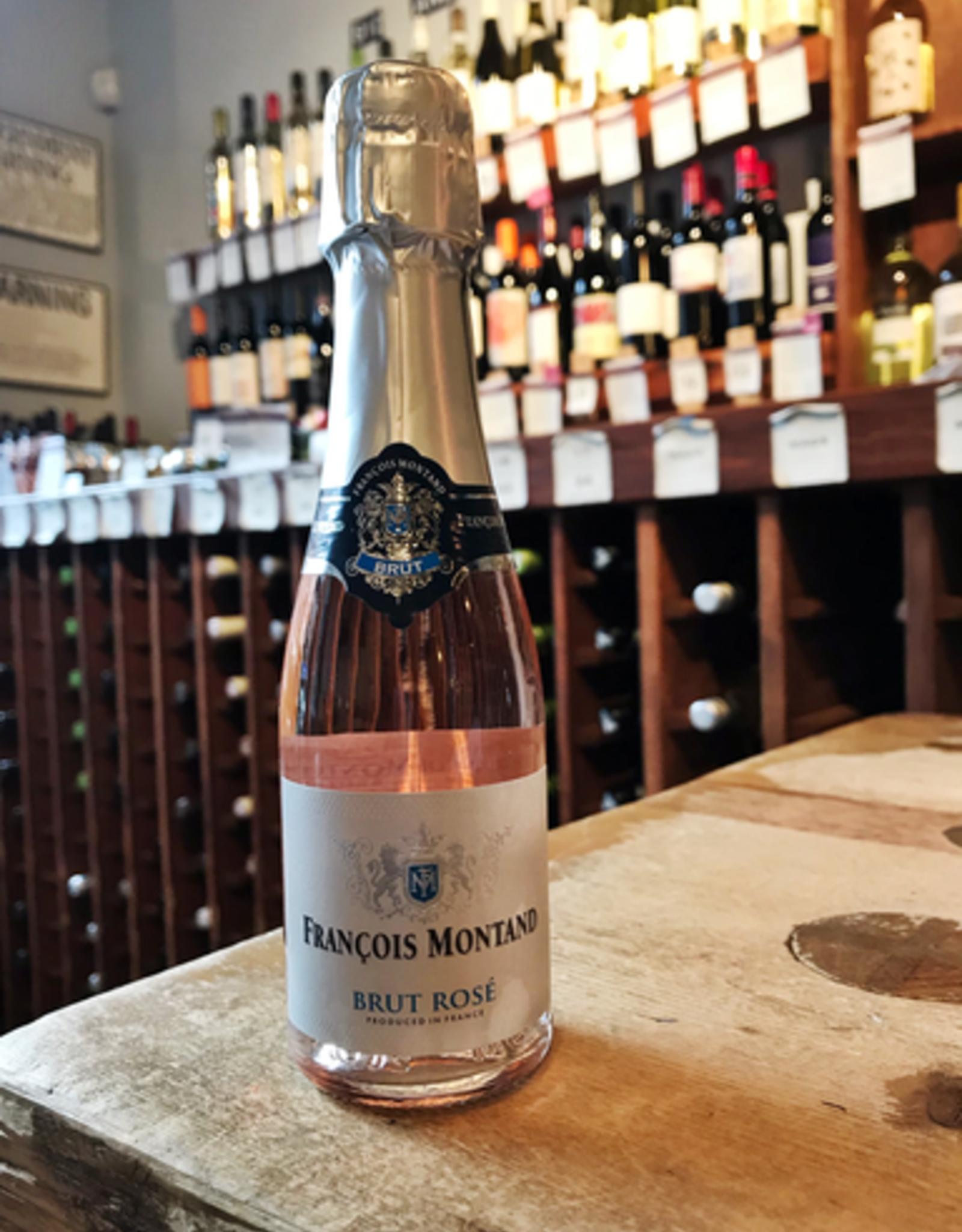 Wine NV Francois Montand Brut Rose - France (187ml)
