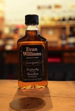 Evan Williams Black Label 86 proof Straight Bourbon Whiskey - Bardstown, KY (200ml)