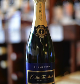 NV Nicolas Feuillatte Brut Blue Label Reserve - Chouilly, Champagne, France (187ml)