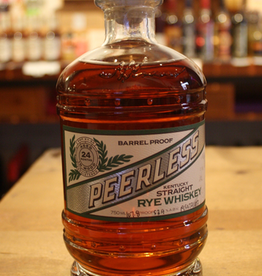 Peerless 2yr Barrel Proof Straight Rye Whisky - Louisville, Kentucky (750ml)