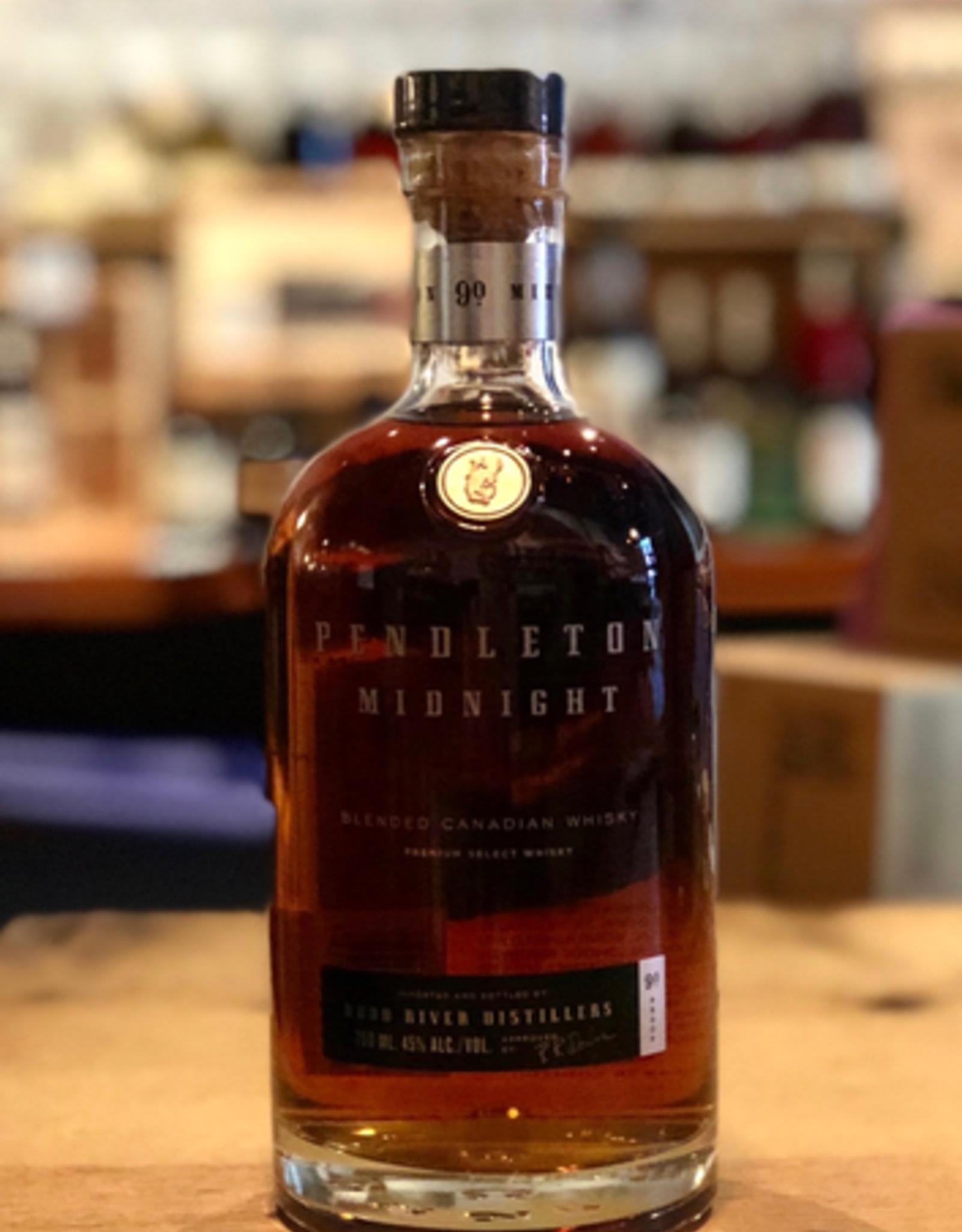 Pendleton Midnight Whisky, Hood River Distillers - Canada (750ml)