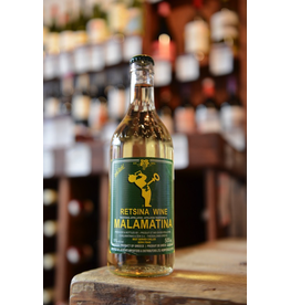 NV Retsina Wine Malamatina - Thesssaloniki, Greece (500ml)