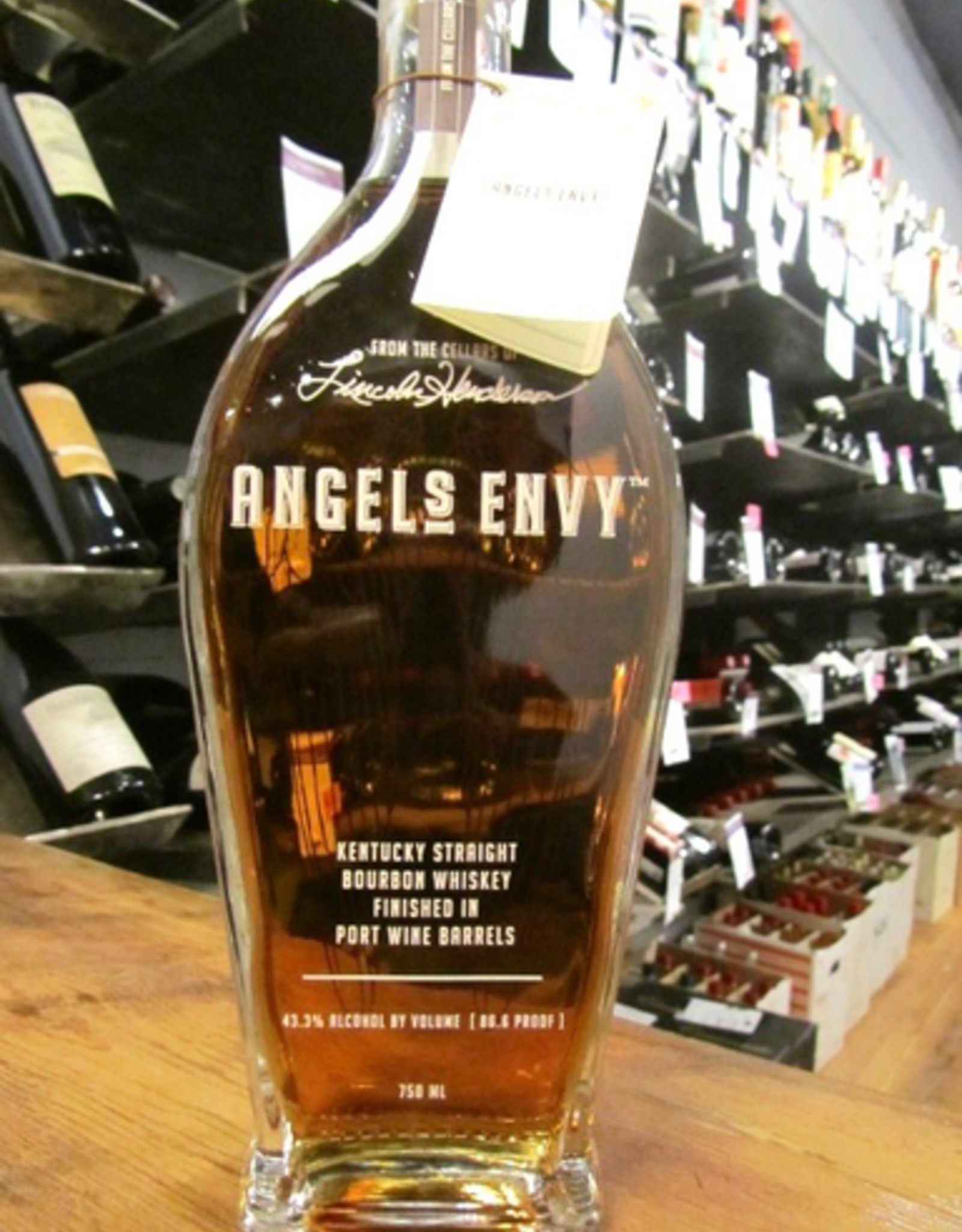 Lincoln Henderson Angel's Envy Bourbon - Bardstown, KY (750ml)