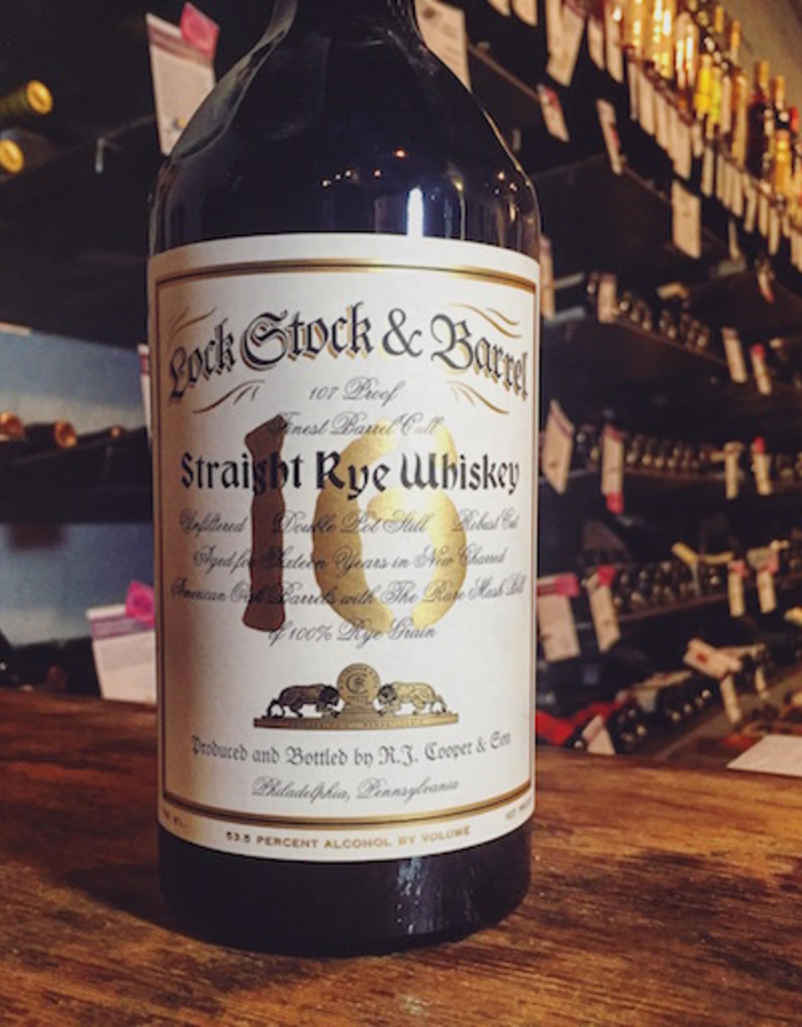 RJ Cooper & Son 'Lock Stock & Barrel' 16yr Straight Rye Whiskey - Philadelphia, PA (750ml)