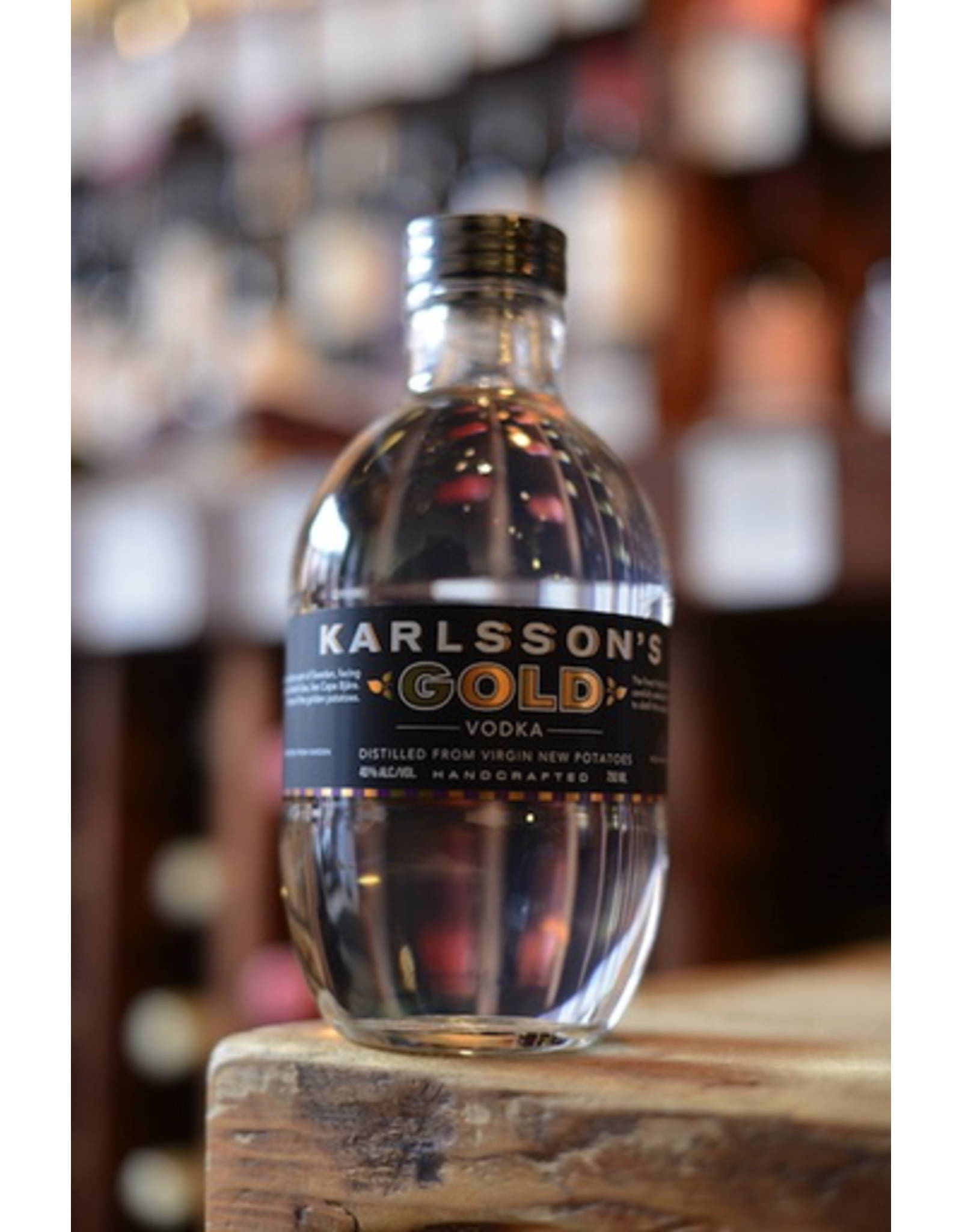 Karlsson's Vodka Potato Gold 80 - Bjarehalvon, Sweden (750ml)