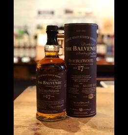 Balvenie DoubleWood 17 Yr Single Malt Scotch Whisky - Speyside, Scotland (750ml)