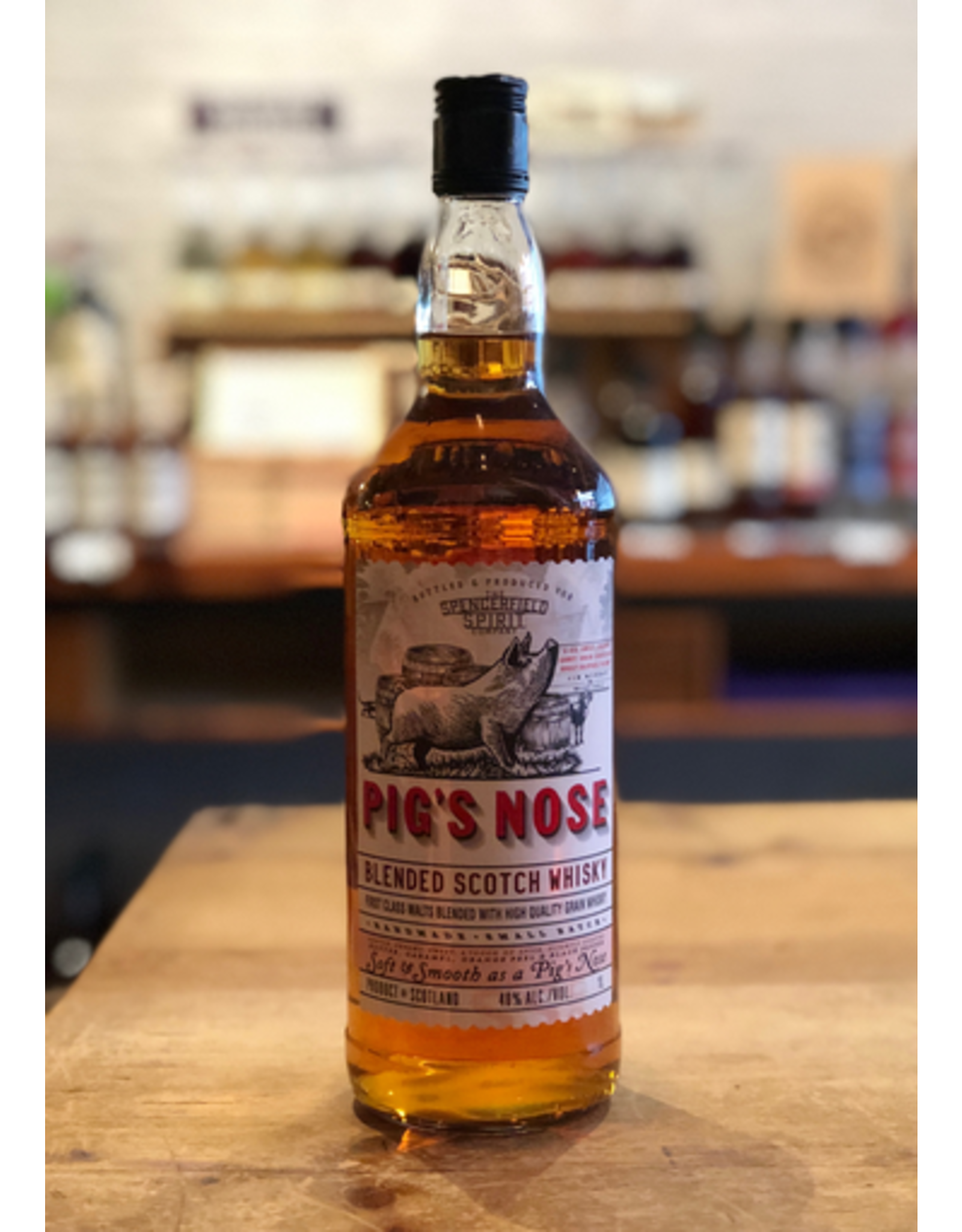 Pig's Nose Blended Scotch Whisky - Scotland (1Ltr)