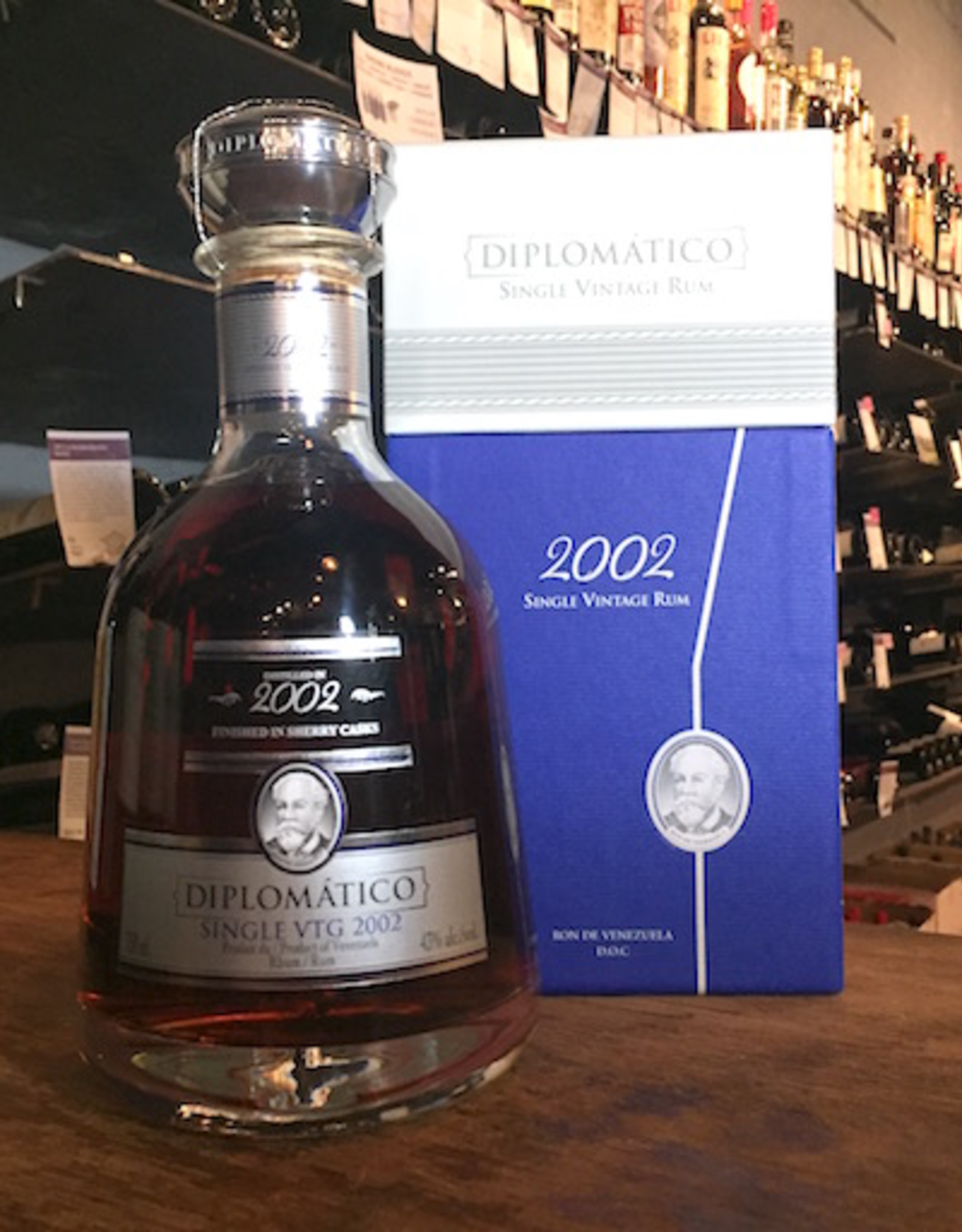 2002 Diplomatico Single Vintage Rum - Venezuela (750ml)