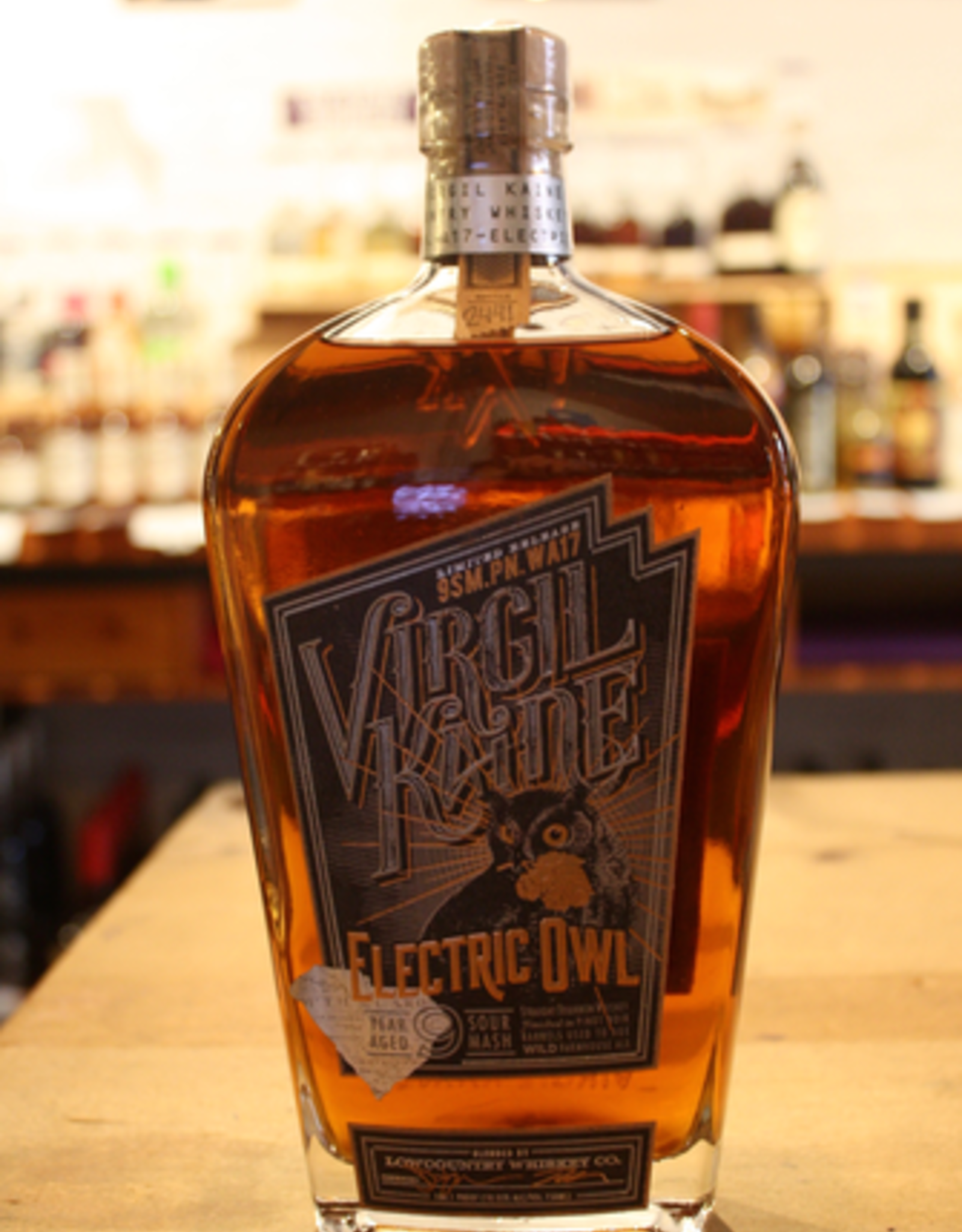 Virgil Kaine Electric Owl Straight Bourbon Whiskey - South Carolina (750ml)