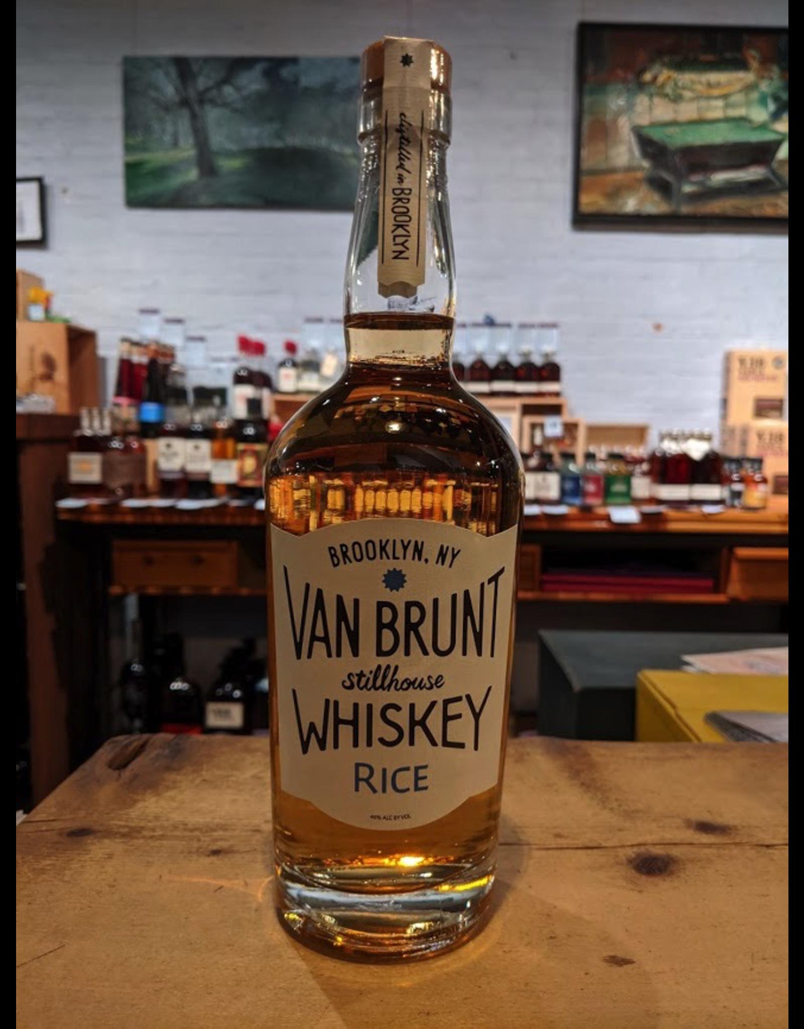 Van Brunt Stillhouse Rice Whiskey - Red Hook, Brooklyn (750ml)