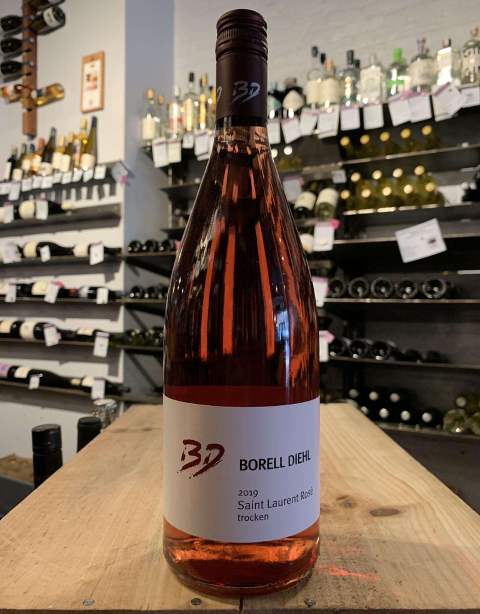2019 Borell-Diehl Saint Laurent Rose - Pfalz, Germany (1Ltr)